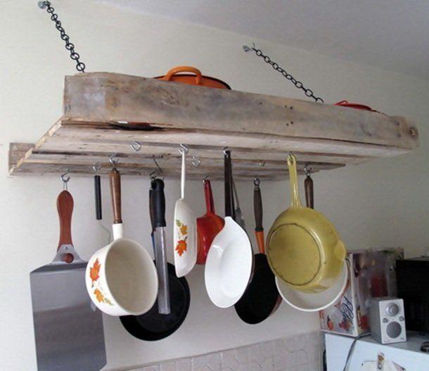 palette utile pour ustensiles de cuisine