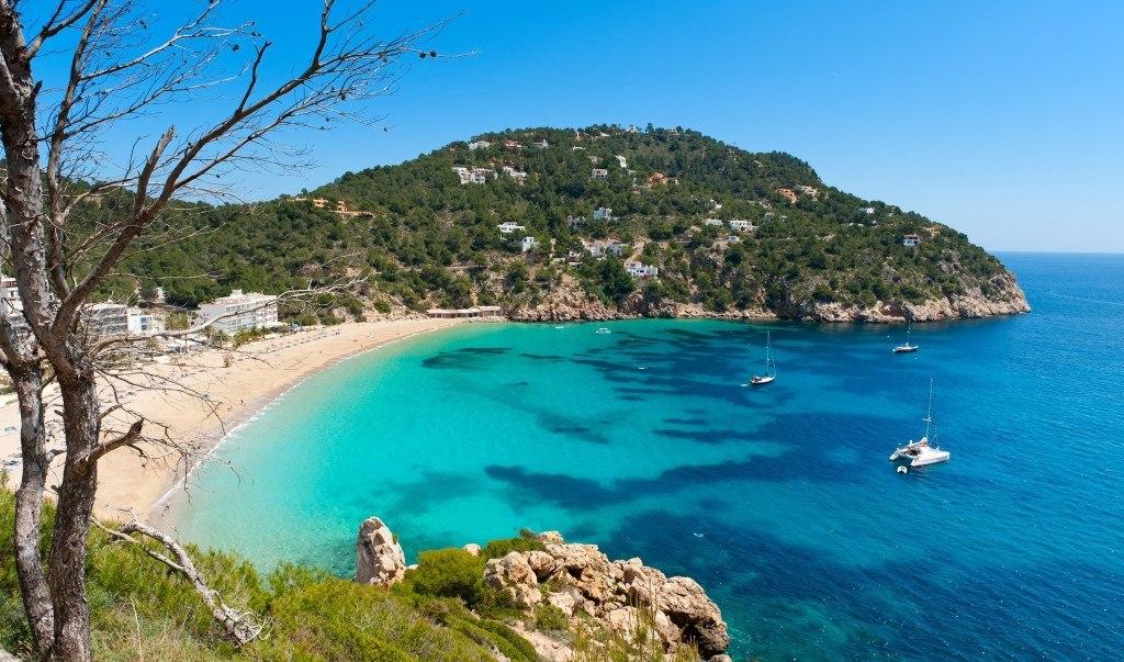 plage d'Ibiza en Espagne