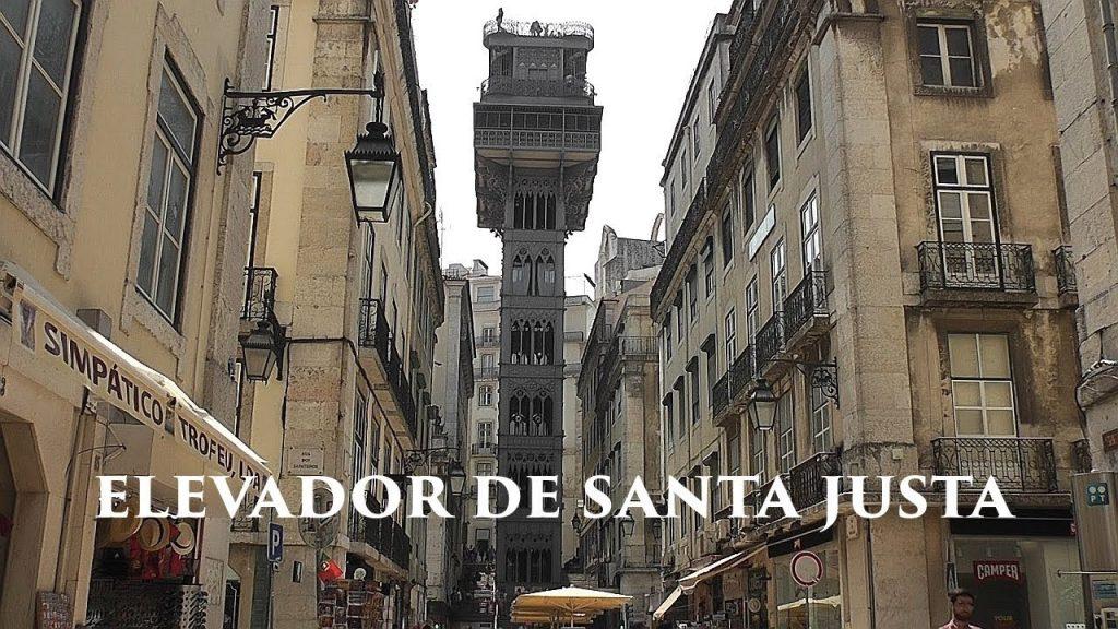Elevador Santa Justa de Lisbonne