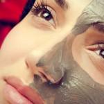 masque de beauté à base d'argile