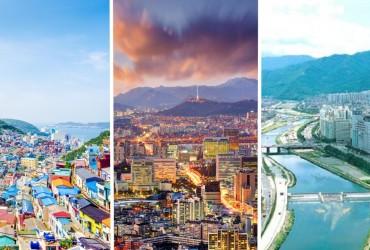 top villes à voir en Corée du Sud