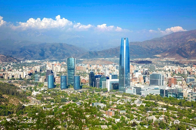 Santiago de Chile, la capitale du Chili