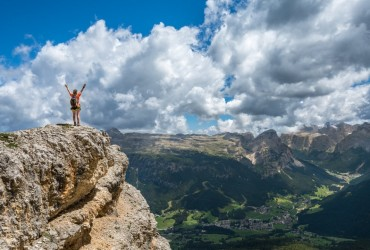vacances à la montagne en été