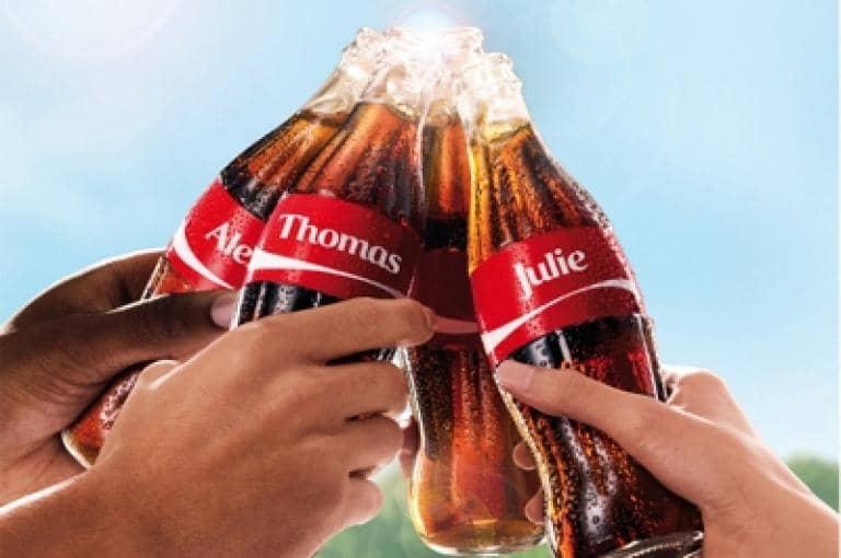 Coca-Cola : « Partagez du bonheur »